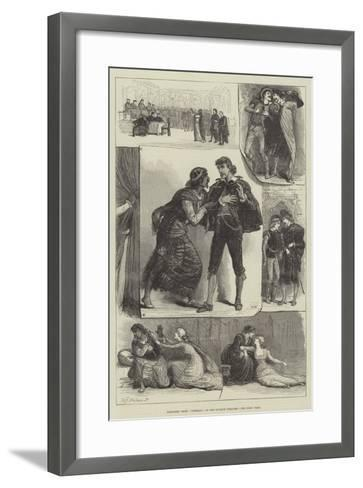 Sketches from Othello, at the Lyceum Theatre-Francis S. Walker-Framed Art Print