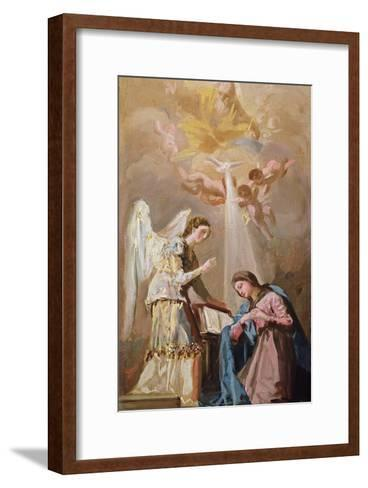 The Annunciation (Oil)-Francisco de Goya-Framed Art Print