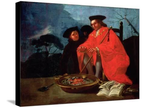 The Doctor, 1779-Francisco de Goya-Stretched Canvas Print