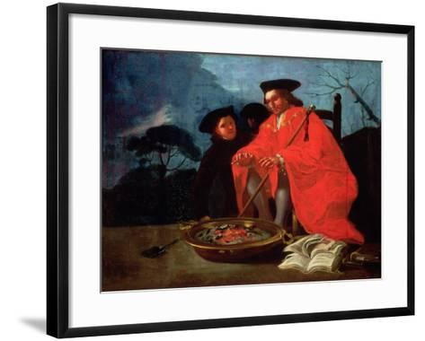 The Doctor, 1779-Francisco de Goya-Framed Art Print