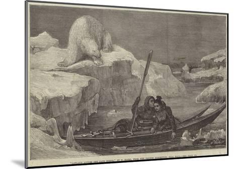 Lapland Lovers Off Cape North-Francois Auguste Biard-Mounted Giclee Print