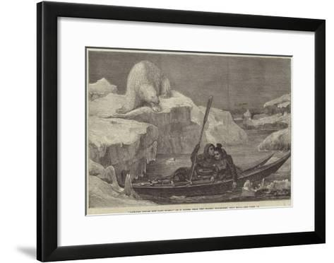 Lapland Lovers Off Cape North-Francois Auguste Biard-Framed Art Print