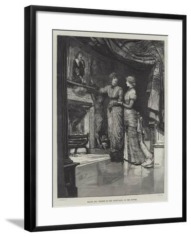 They Were Married-Francis S. Walker-Framed Art Print