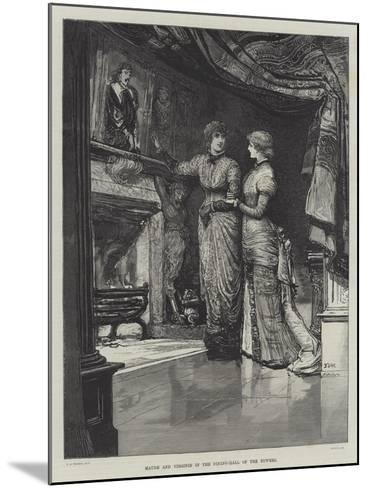 They Were Married-Francis S. Walker-Mounted Giclee Print