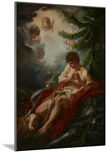 Saint John the Baptist, C.1755-Francois Boucher-Mounted Giclee Print