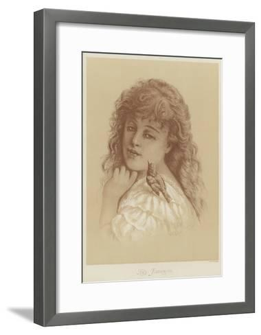 The Favorite-Florence Claxton-Framed Art Print