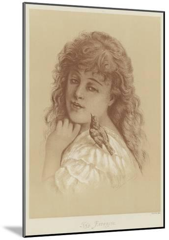 The Favorite-Florence Claxton-Mounted Giclee Print