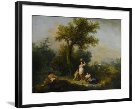 A Landscape-Francesco Zuccarelli-Framed Art Print