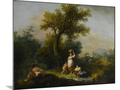 A Landscape-Francesco Zuccarelli-Mounted Giclee Print