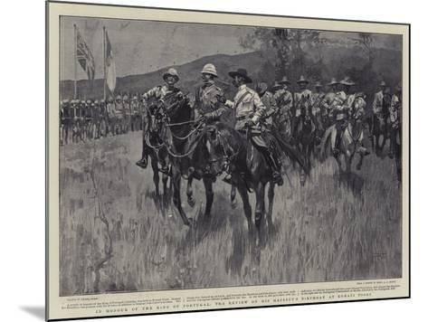 In Honour of the King of Portugal, the Review on His Majesty's Birthday at Komati Poort-Frank Craig-Mounted Giclee Print