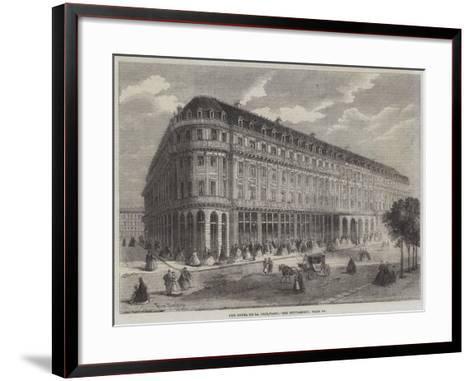 The Hotel De La Paix, Paris-Felix Thorigny-Framed Art Print