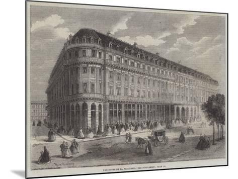 The Hotel De La Paix, Paris-Felix Thorigny-Mounted Giclee Print