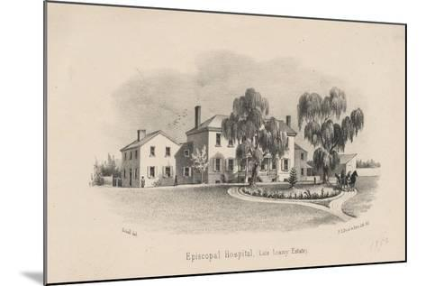 Episcopal Hospital, 1856-Francis Schell-Mounted Giclee Print