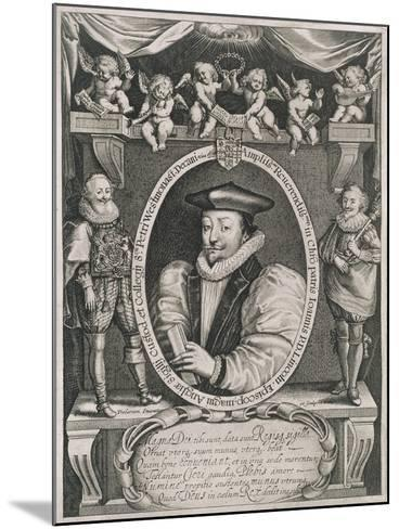 Portrait of John Williams (1582-1650) Bishop of Lincoln and Dean of Westminster-Francis Delaram-Mounted Giclee Print