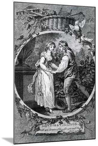 Love in a Village, 1791-Francis Wheatley-Mounted Giclee Print