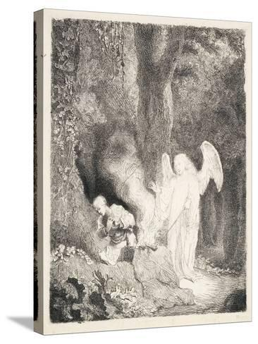 Gideon's Sacrifice, C.1642-43-Ferdinand Bol-Stretched Canvas Print