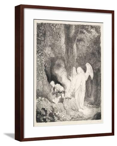 Gideon's Sacrifice, C.1642-43-Ferdinand Bol-Framed Art Print