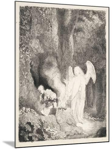 Gideon's Sacrifice, C.1642-43-Ferdinand Bol-Mounted Giclee Print