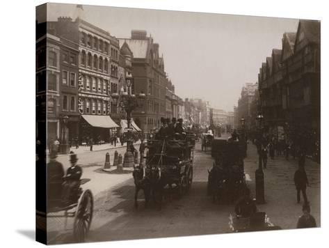 Holborn, London-Francis G. O. Stuart-Stretched Canvas Print