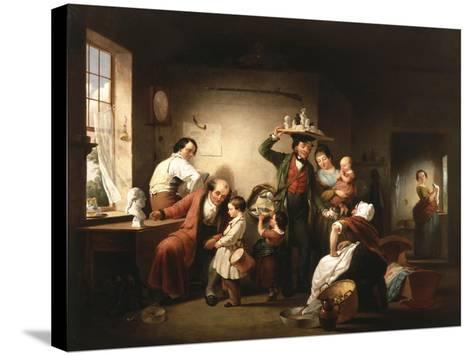 The Image Pedlar, C.1844-Francis William Edmonds-Stretched Canvas Print