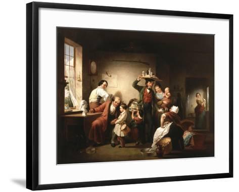 The Image Pedlar, C.1844-Francis William Edmonds-Framed Art Print