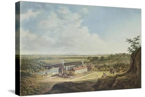 A View of Hampstead Heath Looking Towards London, 1804-Francis James Sarjent-Stretched Canvas Print