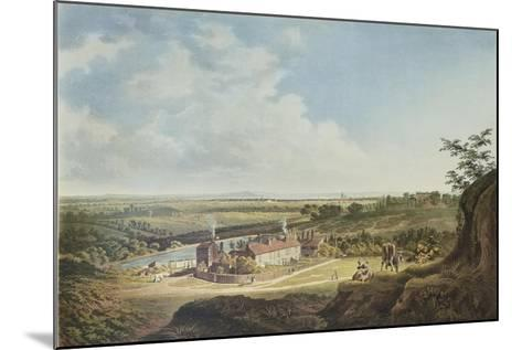 A View of Hampstead Heath Looking Towards London, 1804-Francis James Sarjent-Mounted Giclee Print