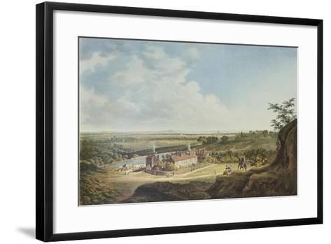 A View of Hampstead Heath Looking Towards London, 1804-Francis James Sarjent-Framed Art Print