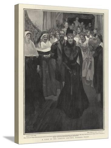 A Visit to the Loretto Convent, Niagara Falls-Frank Craig-Stretched Canvas Print