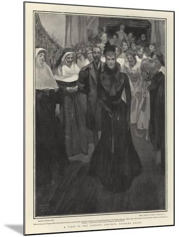 A Visit to the Loretto Convent, Niagara Falls-Frank Craig-Mounted Giclee Print