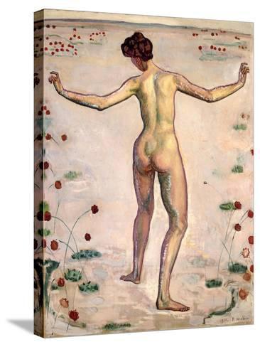 The Splendor of Lines; Linienherrlichkeit, 1908-Ferdinand Hodler-Stretched Canvas Print