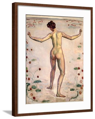 The Splendor of Lines; Linienherrlichkeit, 1908-Ferdinand Hodler-Framed Art Print