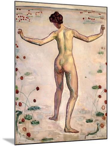 The Splendor of Lines; Linienherrlichkeit, 1908-Ferdinand Hodler-Mounted Giclee Print