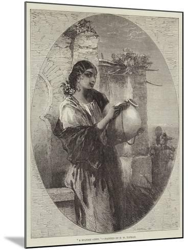 A Spanish Gipsy-Francis William Topham-Mounted Giclee Print