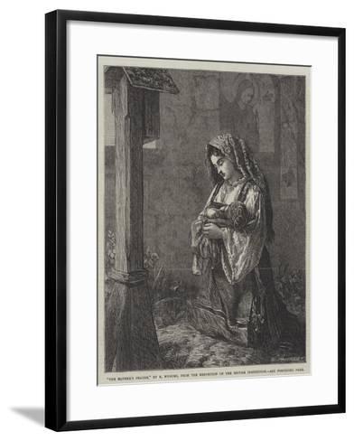 The Mother's Prayer-Francis John Wyburd-Framed Art Print