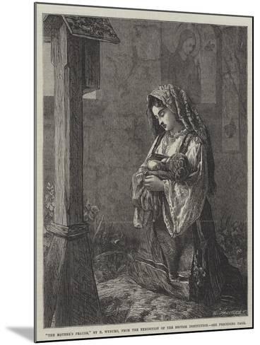 The Mother's Prayer-Francis John Wyburd-Mounted Giclee Print