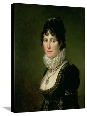 Mary Nisbet, Countess of Elgin, C.1804-Francois Pascal Simon Gerard-Stretched Canvas Print