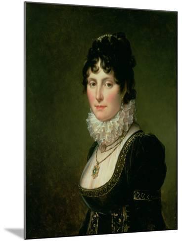 Mary Nisbet, Countess of Elgin, C.1804-Francois Pascal Simon Gerard-Mounted Giclee Print