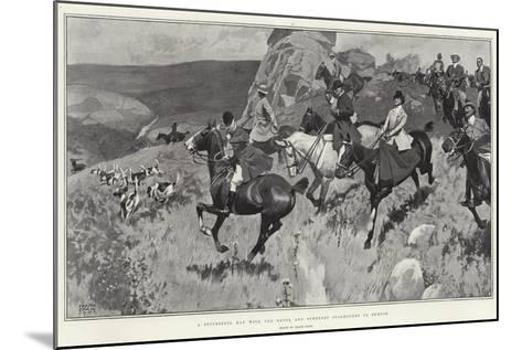 A Successful Day with the Devon and Somerset Staghounds on Exmoor-Frank Craig-Mounted Giclee Print
