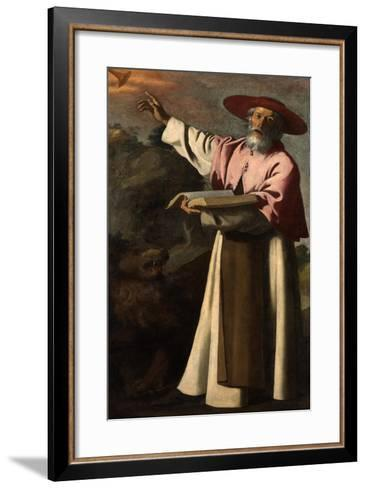 Saint Jerome, C.1640-45-Francisco de Zurbaran-Framed Art Print