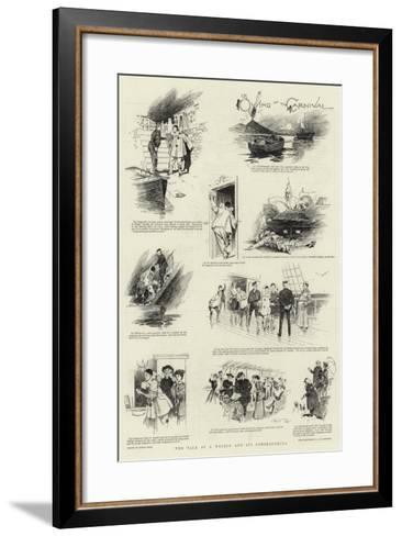 The Tale of a Masque and its Consequences-Frank Craig-Framed Art Print