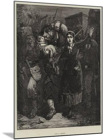 Vive La Commune!-Felix Regamey-Mounted Giclee Print