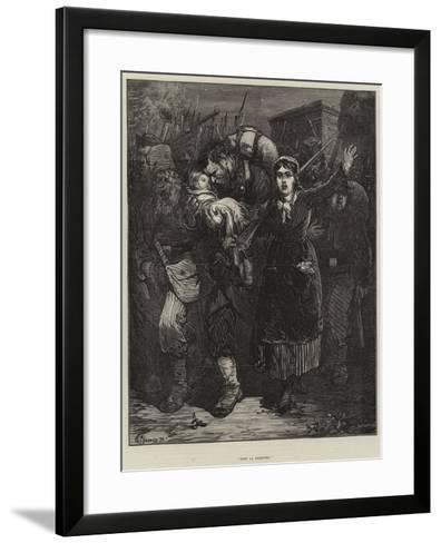Vive La Commune!-Felix Regamey-Framed Art Print
