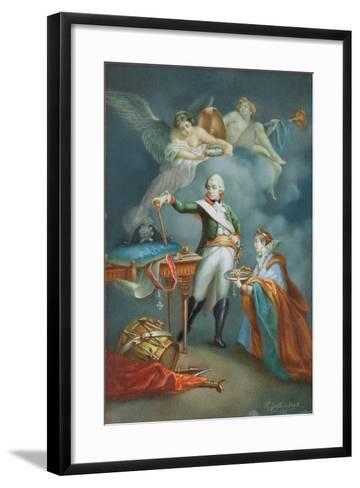 Major General Aleksandr Vassil'Evich Suvorov (1729-1800) in Uniform-Francesco Gallimberti-Framed Art Print