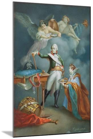 Major General Aleksandr Vassil'Evich Suvorov (1729-1800) in Uniform-Francesco Gallimberti-Mounted Giclee Print