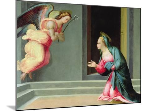 The Annunciation-Francesco Granacci-Mounted Giclee Print