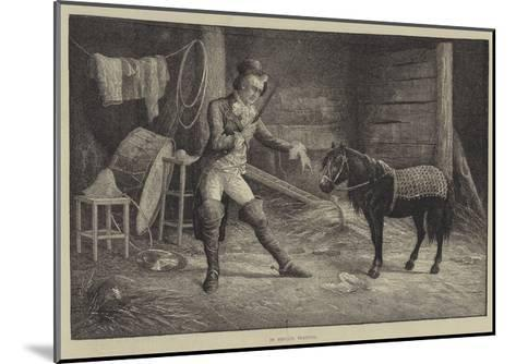 In Private Training-Frank Feller-Mounted Giclee Print
