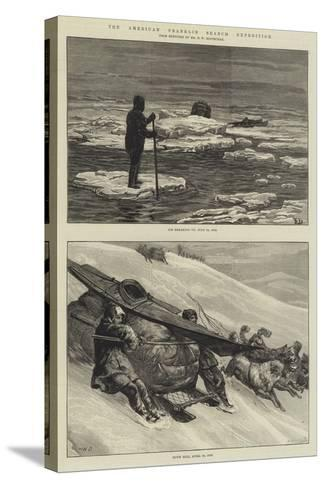 The American Franklin Search Expedition-Frank Dadd-Stretched Canvas Print