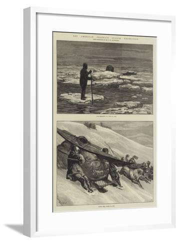 The American Franklin Search Expedition-Frank Dadd-Framed Art Print