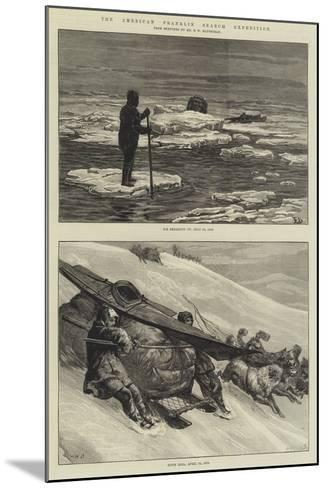 The American Franklin Search Expedition-Frank Dadd-Mounted Giclee Print